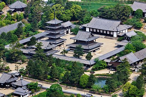 法隆寺地域の仏教建造物の画像 p1_10